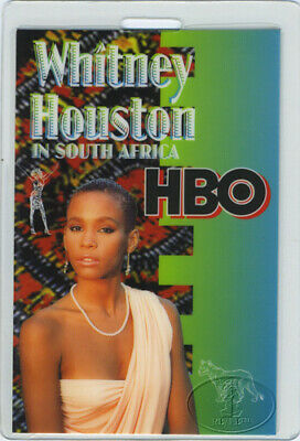 Whitney Houston 1994 Africa Laminated Backstage Pass • 23.16£