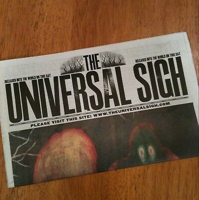 The Universal Sigh Radiohead Newspaper King Of Limbs • 15.95£