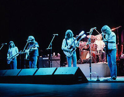 The Eagles UNSIGNED 10  X 8  Photograph - Z632 - Glenn Frey And Randy Meisner • 2.24£