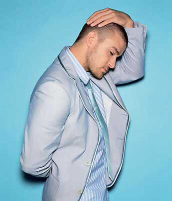 Justin Timberlake UNSIGNED Photo - 7257  - HANDSOME!!!!! • 2.99£