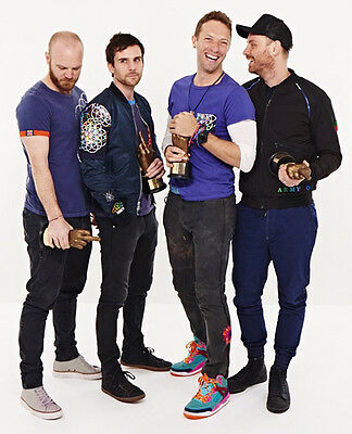 Coldplay UNSIGNED Photo - D494 - Chris Martin, Guy Berryman & Jonny Buckland • 2.99£
