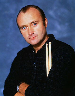 Phil Collins UNSIGNED Photo - D2178 - Drummer & Lead Singer For Genesis • 2.99£