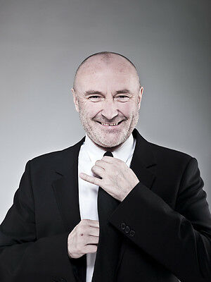 Phil Collins UNSIGNED Photo - D2179 - English Singer, Songwriter & Actor - SALE! • 1.50£