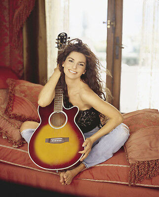 Shania Twain UNSIGNED Photo - F654 - GORGEOUS!!!!! • 2.24£