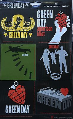 GREEN DAY Magnets Set Of 6 American Idiot Album  New Official Rock Merchandise • 5.99£