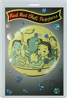 RED HOT CHILI PEPPERS 1995 Laminated Backstage Pass • 23.44£