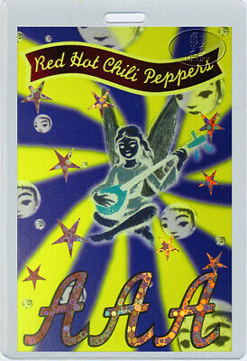 RED HOT CHILI PEPPERS 1995-97 Laminated Backstage Pass • 19.53£