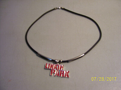 Brand New LINKIN PARK Metal Logo Rock Band Choker Style Necklace  • 5.62£