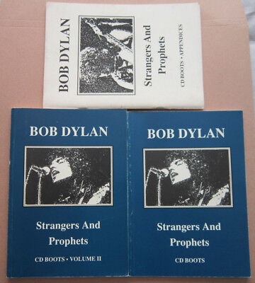 Bob Dylan Strangers And Prophets Volume II And Appendices Paperback Books  • 24.99£
