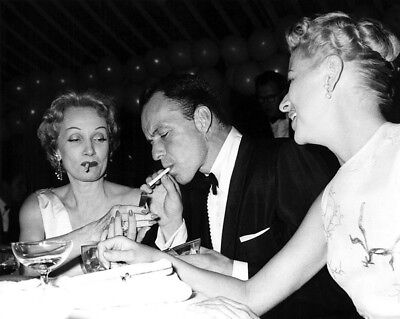 Frank Sinatra, Marlene Dietrich And Betty Fumess UNSIGNED Photograph - L3687  • 3.99£
