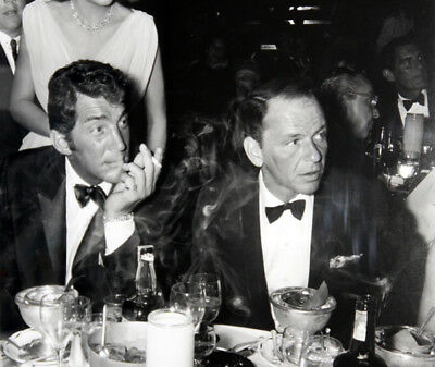 Frank Sinatra And Dean Martin UNSIGNED Photograph - L3688 - In The 1960's • 1.99£