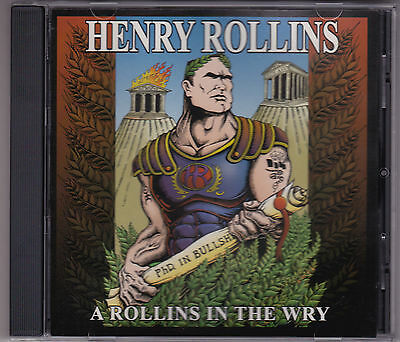 Henry Rollins - A Rollins In The Wry - CD (333652 Quarterstick U.S.A.) • 11.21£