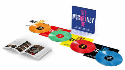 THE ART OF McCARTNEY 4LP 180g Coloured Vinyl Box Set PAUL BEATLES New And Sealed • 21.95£