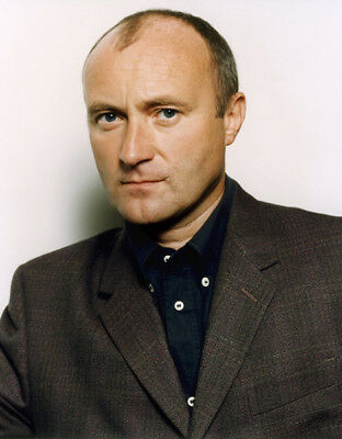 Phil Collins UNSIGNED Photograph - M9594 - English Singer And Actor - NEW IMAGE! • 2.99£