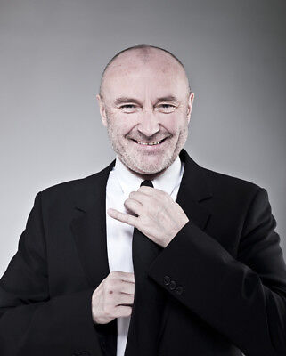 Phil Collins UNSIGNED Photograph - M9602 - English Singer And Actor - NEW IMAGE! • 2.99£
