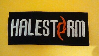Halestorm Patch Embroidered Iron On Or Sew On Badge • 2.69£