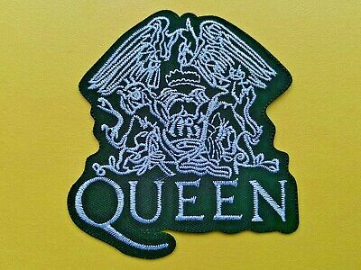 Queen Patch Embroidered Iron On Or Sew On Badge • 3£