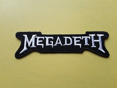 Megadeth Patch Embroidered Iron On Or Sew On Badge • 3£