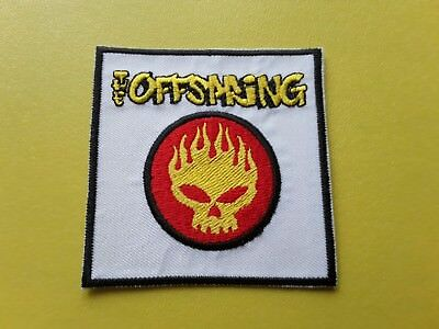 The Offspring Patch Embroidered Iron On Or Sew On Badge • 3£