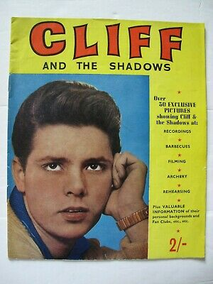 CLIFF AND THE SHADOWS (1962) – Fan Booklet • 20£