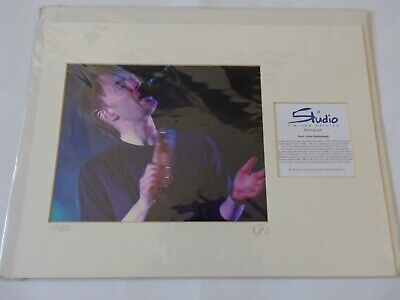 Thom Yorke Radiohead  Studio Limited Edition No 17 Of 2500 Photograph • 25£