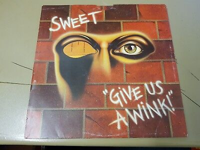 Sweet Give Us A Wink 12  LP • 10£