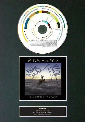 #62 PINK FLOYD The Endless River CD Signed Reproduction Autograph Mounted A4 • 21.99£