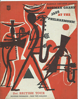 Jazz, Programme For Norman Granz' 2nd. British Tour, May 1959 • 7£