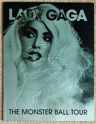 Lady Gaga * The Monster Ball Tour Programme * 2009/2010 * Htf! • 55£