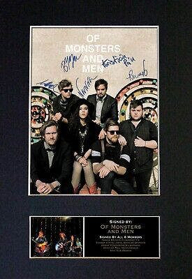 #282 OF MONSTERS AND MEN Reproduction Autograph Mounted Signed Photograph A4 • 19.99£