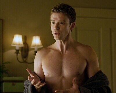 Justin Timberlake UNSIGNED Photograph - A243 - Friends With Benefits • 2.99£