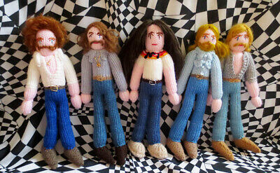 Super Limited Edition Knitted Set Of Eagles! Seventies. Country Rock! • 89£