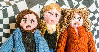 Limited Edition Knitted Crosby Stills & Nash • 55£