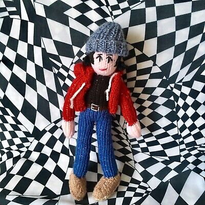 Limited Edition Knitted Elliott Smith Doll • 25£