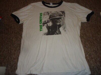 ORIGINAL? THE SMITHS MEAT IS MURDER Anvil SIZE LARGE/ MEDIUM WHITE ROCK T SHIRT  • 19.99£
