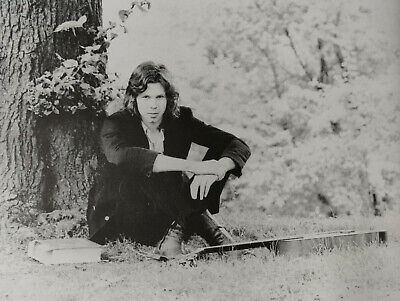 NICK DRAKE - Black & White Magazine Picture / Mini-Poster - RARE • 4.50£