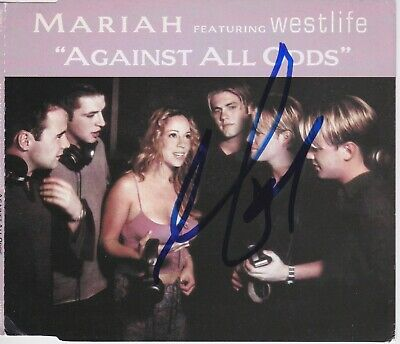 Mariah Carey Signed Against All Odds Import Cd Single  • 57.21£