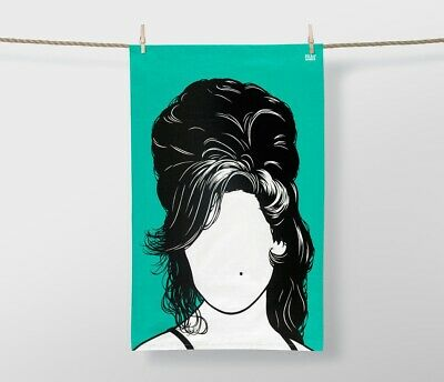 Bold And Noble Amy Winehouse Tea Towel Brand New With Tags Free & Fast Postage • 4.99£