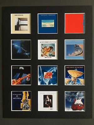 Dire Straits Discography LP Picture 14  By 11  Free Postage • 15.99£