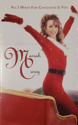 MARIAH CAREY All I Want For Christmas Is You RED CASSETTE SINGLE Limited Edition • 19.99£