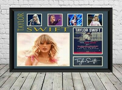 Taylor Swift Signed Photo Print Autographed Poster Memorabilia • 6.49£