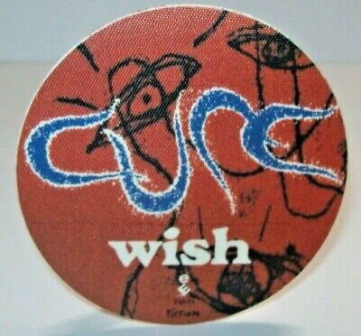 Cure Wish Backstage Pass Concert Tour 1992 Original Goth Post-Post Gift For Fan • 26.92£