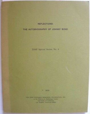 1976 Autobiography Johnny Bond Country Music Songwriter Musician Author & Actor • 34£