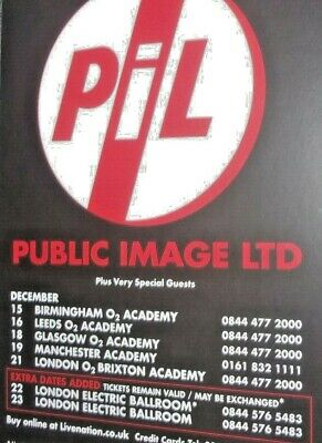 Concert Flyers From The Manchester Academy 2000-2013 • 3£