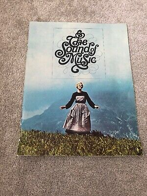 The Sound Of Music 1965 Film/movie Promo Programme/brochure. • 4.99£
