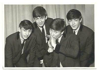 1990 - The BEATLES - B / W Photo Card - Harry HAMMOND Collection - Wizard &... • 7.99£
