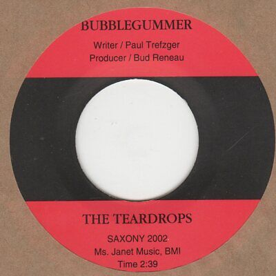 Teardrops  Bubblegummer Saxoney Soul Northern Motown • 10£
