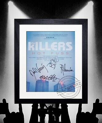 The Killers Signed Autograph Photo Print Framed • 22.99£
