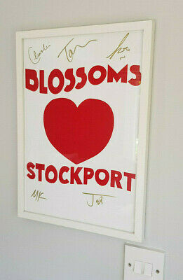 Blossoms  Signed Card Poster  (frame Not Included) • 14.95£