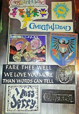 Grateful Dead - Vintage Sticker Lot 2 - Collection Of 8 Various Stickers!  • 13.42£
